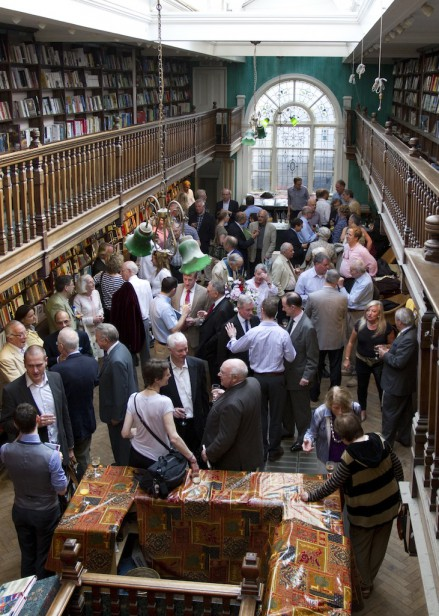 The Closed Horizon book launch at Daunt Books on 23rd May 2012.